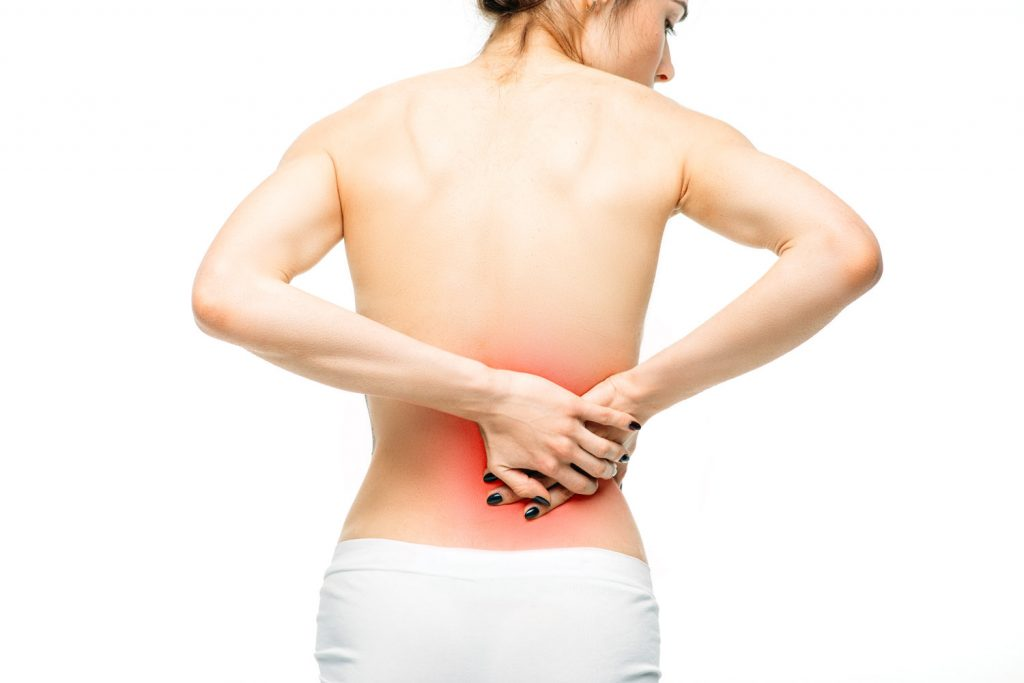 تشخیص علت درد کمر
